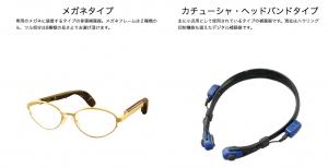 骨導型補聴器の種類の画像:目からウロコの耳寄り情報局