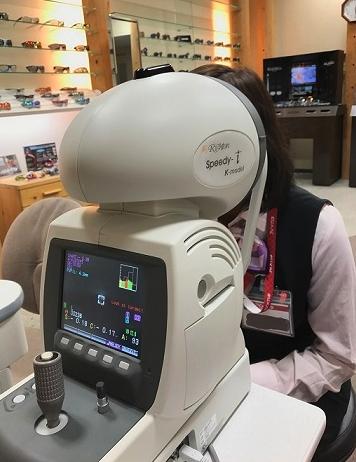 調節機能解析装置の画像:目からウロコの耳寄り情報局